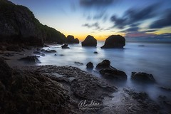 Dark Coast. (Almodovar Photography) Tags: sunset sunrise coast rocks aguadilla darkcoast