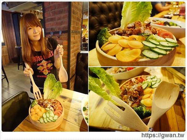 [新竹美食] Our Bistro 小聚食堂(新竹彩虹店) — 咚!!!來一份壁咚招待♥西班牙鍋飯、美式大份量料理✩聚餐好去處♪