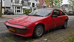 Talbot Matra Murena 1.6 (sjoerd.wijsman) Tags: auto red holland rot cars netherlands car rouge nederland thenetherlands voiture vehicle holanda autos import rood paysbas coupe olanda coup talbot fahrzeug niederlande zuidholland pijnacker carspotting redcars matra murena carspot matramurena talbotmatra talbotmatramurena talbotmurena sidecode6 26062015 05lzbt