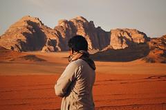 Long bedouin moment (fnimri) Tags: bedouin jordan wadi rum mountain sand peace dune people boy