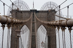 Structure and Form (pjpink) Tags: nyc bridge summer newyork june architecture brooklyn structure cables brooklynbridge form iconic 2015 pjpink