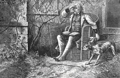 """""""The old man quieted them by a word"""" from """"The Moonstone"""" by Wilkie Collins. NY: Harper & Brothers, 1868.  First US edition (lhboudreau) Tags: art harpers illustration book etching drawing illustrations drawings books diamond story engraving novel harper jewel chandra bookart detective engravings moonstone hardcover hindupriest etchings firstedition 1868 vintagebook harperbrothers hindugod vintagebooks classicnovel wilkiecollins detectivenovel hardcovers americanedition hardcoverbooks themoonstone detectivestory hardcoverbook classicstory vintagehardcoverbook firstamericanedition hindupriests vintagehardcover indiandiamond franklinblake rachelverinder firstusedition stolendiamond stolenjewel"""