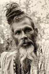 Sadhu. (fdecastrob) Tags: india baba sadhu sadu