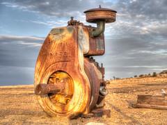 Old engine (Southern Cross Diesel)