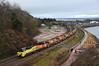 70805 tnt 70807 (Teignstu) Tags: dawlishwarren devon seawall railway colas class70 70805 70807 autoballasters redrock