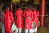 Tourists.   Hue (Claire Pismont) Tags: hue imperial citadel pismont clairepismont colorful couleur color colour red conicalhat nónlá viajar village vietnam vietnammars2016 áodài travel travelphotography travelshot