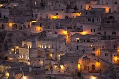 Sassi di notte (fabrizioboni00) Tags: matera sassi luci italia italy basilicata lucania 70200 canon70200mm sassidimatera natale light murgia