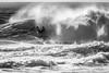 SKA_1996-3 (lenseviews.com) Tags: za southafrica bodyboarder boadyboard surf wave ocean sea blackwhite inmotion