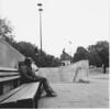 Afternoon Siesta (Rolleican Alan) Tags: street london bw rolleiflex rolleiflex28f hydeparkcorner film ilfordfp4plus