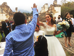 High 5! (Adam Mackinnon) Tags: wedding guatemala antigua hi5