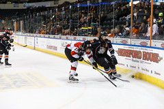 "Missouri Mavericks vs. Cincinnati Cyclones, January 25, 2017, Silverstein Eye Centers Arena, Independence, Missouri.  Photo: John Howe / Howe Creative Photography • <a style=""font-size:0.8em;"" href=""http://www.flickr.com/photos/134016632@N02/31746421553/"" target=""_blank"">View on Flickr</a>"