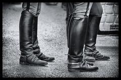 Boots (CA_Rotwang) Tags: reitstiefel stiefel riding boots equestrian reiten chio aachen germany deutschland horse pferd sport leather sporen spurs black white filter photoshop