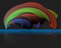 Spaceship (Erroba) Tags: art math spaceship abstract architecture calatrava landed curves erroba erlend robaye