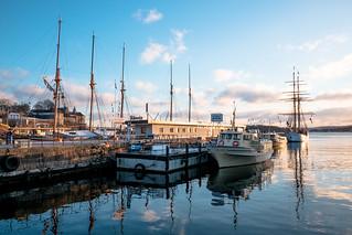 Rådhusbrygga i Oslo