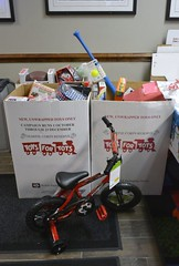 Toys 4 Tots-LuLu's Christmas Party Donations 2016