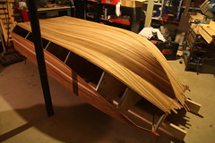 Blue Water Skiff (cedarkayak) Tags: buildingaboat cedarstrip bluewaterskiff boat dinghy tender