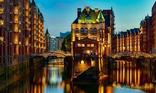 Wasserschloss -  Hamburg