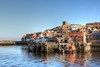 Whitby, North Yorkshire (robin denton) Tags: whitby northyorkshire yorkshire town urbanlandscape urban fishingvillage fishingport port harbour riveresk rnbesk lifeboat lifeboatstation rnli buildings stmaryschurch church waterscape water reflections quayside hdr