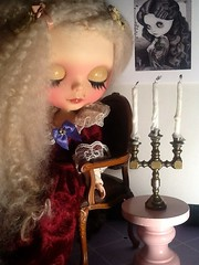 Tag Game: Ava Is Not Well & Blythe-a-Day January#3&#11: Sleep&Empty: Miss Havisham and Her Dreams...