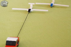 Glider (microairliner) Tags: lego moc airplane glider motorglider micro microscale model car afol