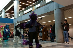 FCParade2017_03_-20170114-00048 (Kory / Leo Nardo) Tags: fur furry fursuit suiting dance party dj con convention further confusion fc san jose marriott center parade walk march fc2017 2017 pupleo kory