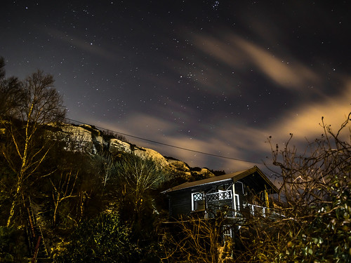 """Cabin and stars"""