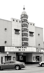 The Washita Theater in Chickasha, Oklahoma (kevinellison62) Tags: architecture modernstyle modernmovement building oldbuilding chickasha oklahoma washitatheater theater