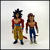 Goku & Vegeta [Super Saiyan 4] (Corey's Toybox) Tags: actionfigure figure toy anime dragonballgt dbgt goku supersaiyan4 ss4 vegeta