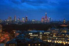 PT London (JH Images.co.uk) Tags: london park tower knightsbridge eye londoneye hdr dri night clouds city skyline cityscape blue hour big ben skyscrapers