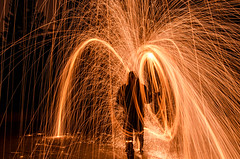 Steel Wool Night Photography (nunymare) Tags: steel wool night photography edmonton