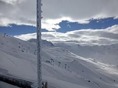 Piste David Douillet: vue sur Val Tho (-Skifan-) Tags: lesmenuires pistedaviddouillet vuesurvalthorens 3vallées les3vallées skifan
