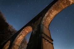 Perfect night (ILCE-7M2 + Samyang 14mm f2.8) (tadanori.inoue) Tags: night star stars darkness twinkling bridge starscape landscape nightscape samyang 14mm sony ilce7m2 ilce7
