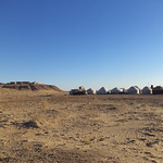 Jurtencamp und Festung Ayaz Kala