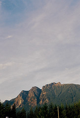 Mount Si (Alex T-P Photo) Tags: film nature analog 35mm river washington fuji rangefinder roadtrip olympus 35mmfilm twinpeaks fujifilm gorge washingtonstate fujicolor200 mountsi fujicolor olympus35sp northbendwashington