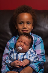Christian and Taio (Iliyan Yankov) Tags: life family portrait people baby love boys kids holding hands hug child friendship little brothers young human newborn trust care hold