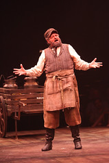 "Bob Amaral as Tevye in the Music Circus production of ""Fiddler on the Roof"" at the Wells Fargo Pavilion Aug 14-19. Photo by Charr Crail."