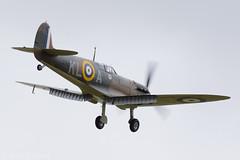 Spitfire (Huw Hopkins LRPS Photography) Tags: summer june museum 1 war duxford imperial spitfire cambridgeshire mk airfield iwm cambs supermarine 2015 mk1 mki i x4650