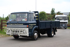Ford D series S.Gregory & Sons FNM243E (NTG's pictures) Tags: show heritage classic ford museum vintage d centre sunday commercial series motor warwickshire sons gaydon sgregory fnm243e 14june2015
