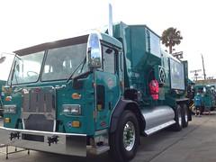 36228 (SoCalGarbageTrucks) Tags: trash truck garbage side refuse loader peterbilt 320 amrep