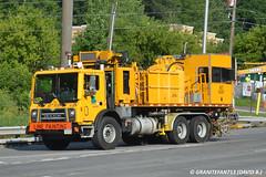 PennDOT Mack MRU613 Line Painter (Trucks, Buses, & Trains by granitefan713) Tags: truck bigtruck mack coe paintcrew penndot macktruck linepainter mackcabover class8truck mackmru mackmru613 mru613 linestriper mackterrapro vocationaltruck