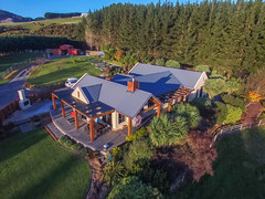 LifeStyle (DriftVFX: Visual, Virtual, Vertical) Tags: newzealand pine real estate farm lifestyle aerial wellington inspire drone