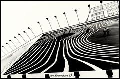 von Brendan . (JayPiDee) Tags: bw abstract lines architecture curves architektur sw gebude abstrakt linien kurven