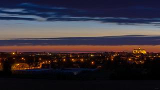 La nuit arrive sur Saint-Quentin / The night comes on Saint-Quentin