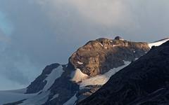 Alpine Mountain Hut in the Glacier (hl_1001) Tags: austria grosglockner hochalpenstrase highalpineroad hohetauern glacier mountain carinthia snow alpinehut oberwalderhütte sunrise