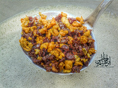 This is a tradional food in Jizan( south of Saudi Arabia)  called Mahshoosh                     (Ibrahim Hamaty) Tags: photography south eid saudi saudiarabia   jizan     saudiphotography