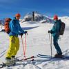 Saint Bernard of Menthon (David Roberts 01341) Tags: skiing skitouring skirandonnee alps switzerland suisse italy italia grandsaintbernard offpiste