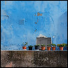 walled garden (foto.phrend) Tags: blue square garden wall fujifilm tenerife puertodelacruz