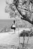 Get lost and then get found (lorenzoviolone) Tags: 48 bw blackwhite blackandwhite camera d5200 dslr fujifp3000b girl monochrome nikon nikond5200 photographer reflex seascape vsco vscofilm beach cliffside exploring horizon horizononthewater path seaside streetphoto streetphotobw streetphotography travel:malta=aug2016 trees walking sanpawlilbaħar malta fav10