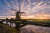 Windmill Sunrise (martijnvdnat) Tags: bospolder cold culture dutch holland leiderdorp meerburgermolen netherlands windmill winter agriculture architecture calm countryside doespolder farm farmland field freezing frost horizon meadow morning munnikenpolder outdoors outside pasture polder rural scenic sunrise traditional windmills