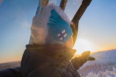 _DSC0287 (lindalaaksonen) Tags: sun snow winter snowboarding ruka